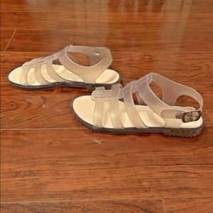 Clear Sandals (accepting offers)